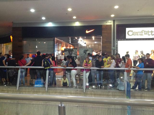 tienda nike venezuela