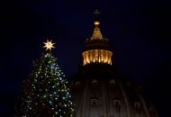 VATICAN-GERMANY-CHRISTMAS TREE