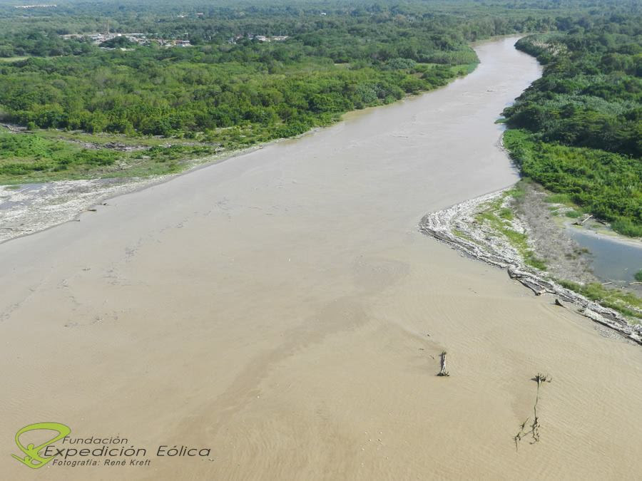 Alto indice de contaminación produce el Río Guaire Desembocadura-ElGuaire-2