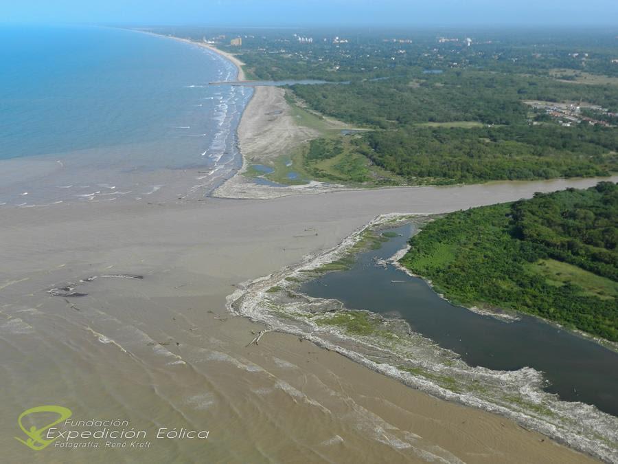 Alto indice de contaminación produce el Río Guaire Desembocadura-ElGuaire-9
