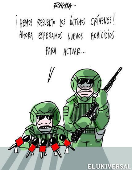 Caricaturas del viernes 10 de enero de 2014