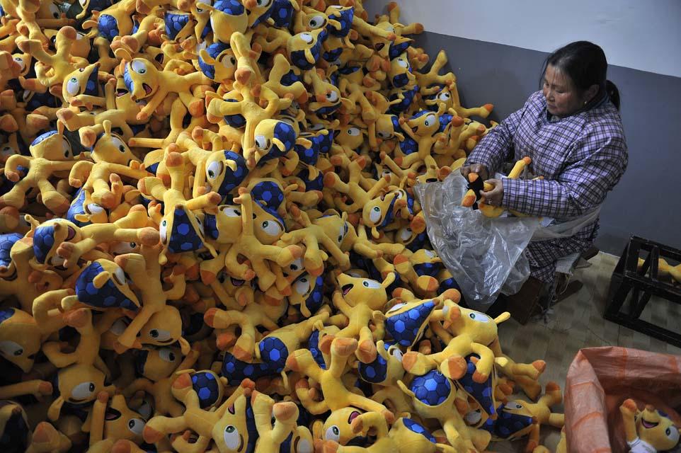 Avanza la producción de fuleco la mascota del mundial brasil 2014