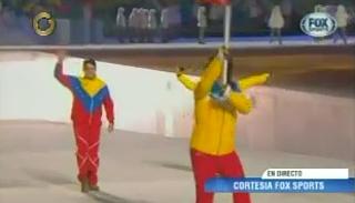 acn AP Así desfiló el único venezolano en los Juegos Olímpicos Sochi 2014 (+Fotos)