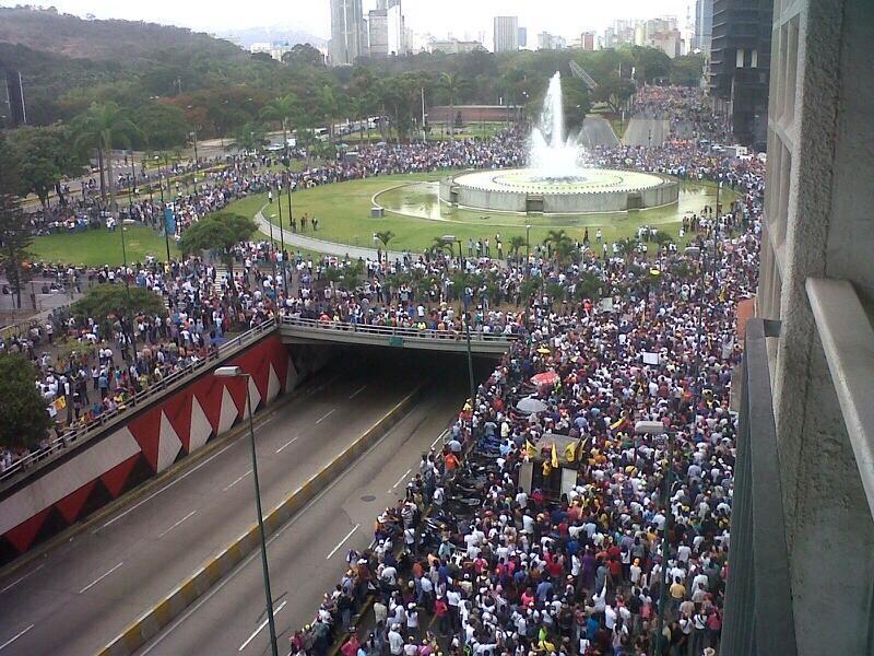 Echa un vistazo de todo lo que ha pasado en Venezuela