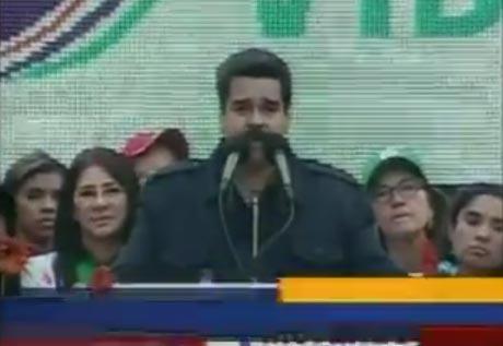 Maduro invoca al espíritu afroamericano de Obama