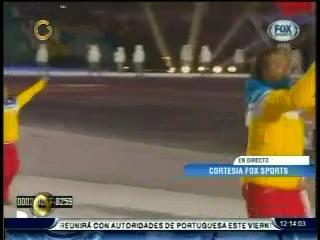 acn Snapshot0 Así desfiló el único venezolano en los Juegos Olímpicos Sochi 2014 (+Fotos)