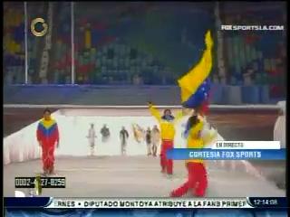 acn Snapshot1 Así desfiló el único venezolano en los Juegos Olímpicos Sochi 2014 (+Fotos)