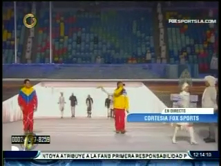 acn Snapshot2 Así desfiló el único venezolano en los Juegos Olímpicos Sochi 2014 (+Fotos)
