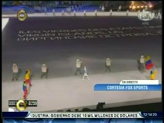 acn Snapshot3 Así desfiló el único venezolano en los Juegos Olímpicos Sochi 2014 (+Fotos)