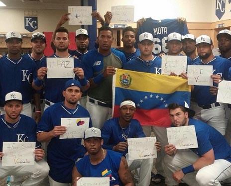 Otros equipos de Beisbol se unen a la protesta de #PrayForVenezuela