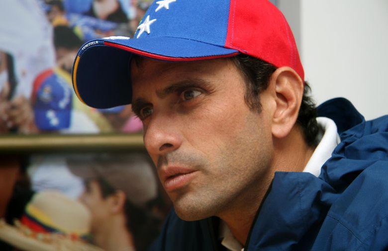Capriles afirma que la paz del país pasa