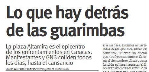 """Detras Las Noticias """"lo Que Hay Detrás de Las"""