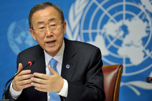 """El líder de la ONU se retracta: """"Nada justifica el terrorismo"""""""