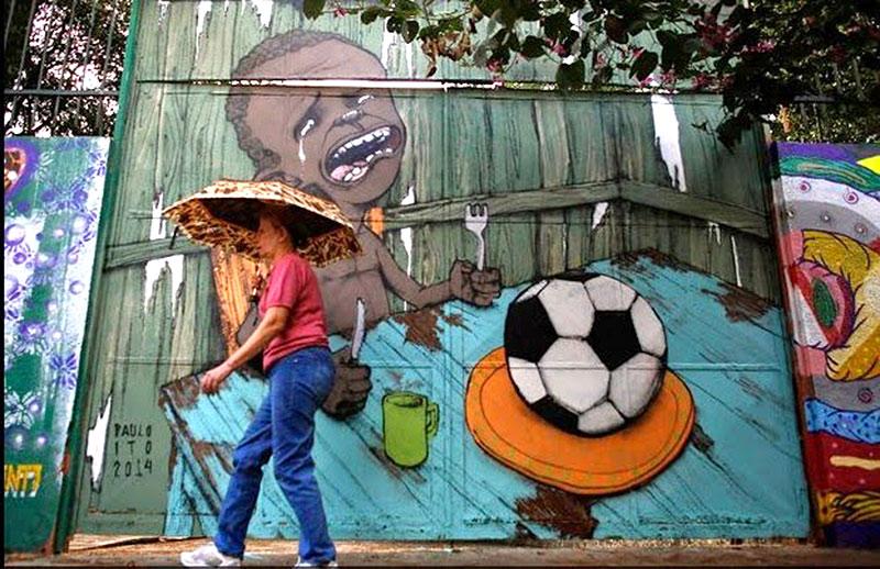 Graffiti-Paulo-Ito-descontento-social-contra-el-Mundial-de-Brasil
