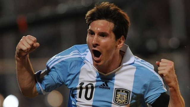 Messi a 1 gol del maradona del 86