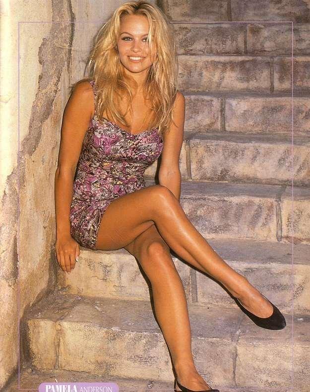 fotogr  225 fica de Pamela Anderson jovencita  tu primer amorEarly Pamela Anderson