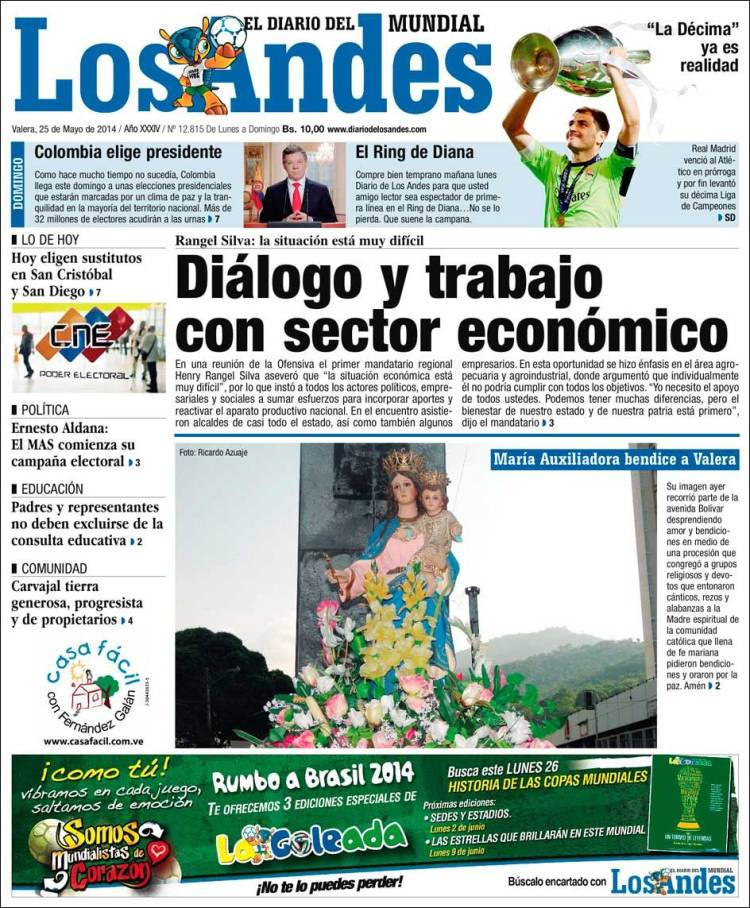 diario andino andes: