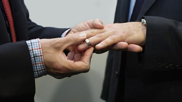 El matrimonio entre personas del mismo sexo en la