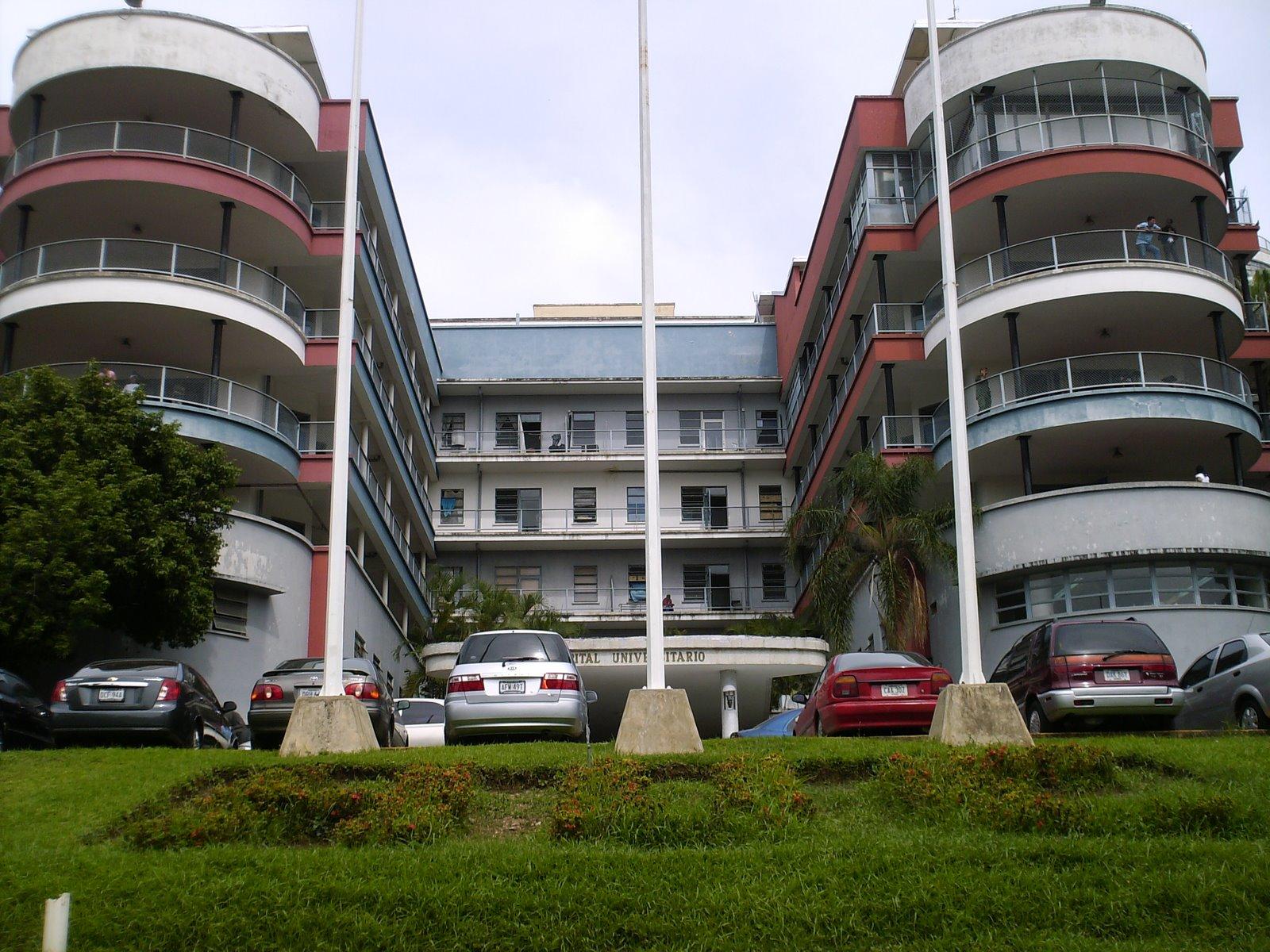 Hospital Universitario de Caracas (Foto archivo)