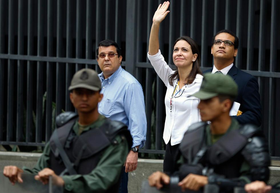 VIDEO: Capturan al Viceministro de Industrias insultando a María Corina Machado