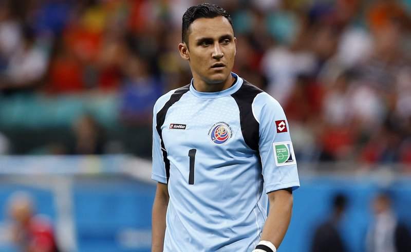 Keylor Navas, portero de la selección de Costa Rica (Foto: EFE)