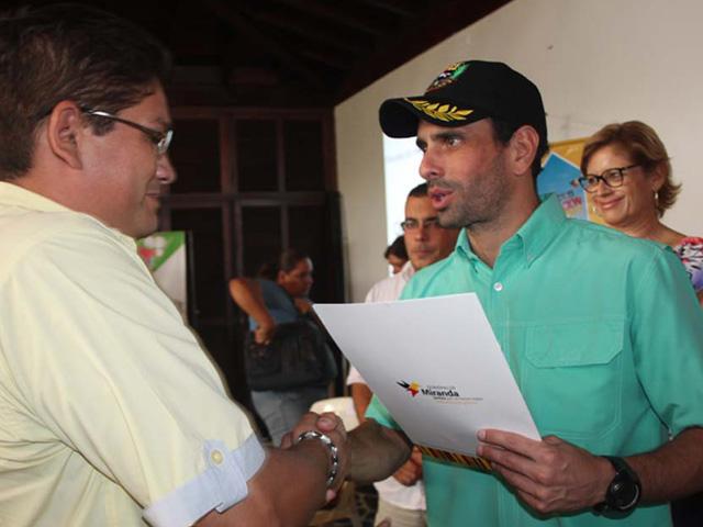 Capriles: Venezuela se encuentra entre los peores países para hacer negocios