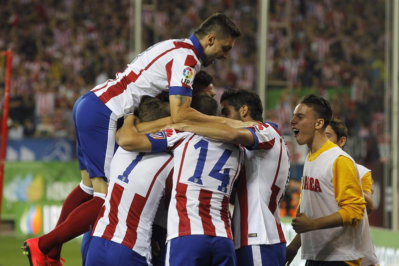 Atlético se coronó campeón de la Supercopa de España