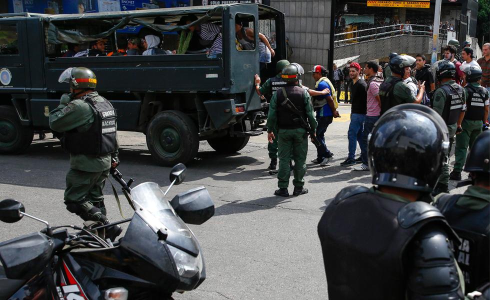 PNUD estudiantes detenidos