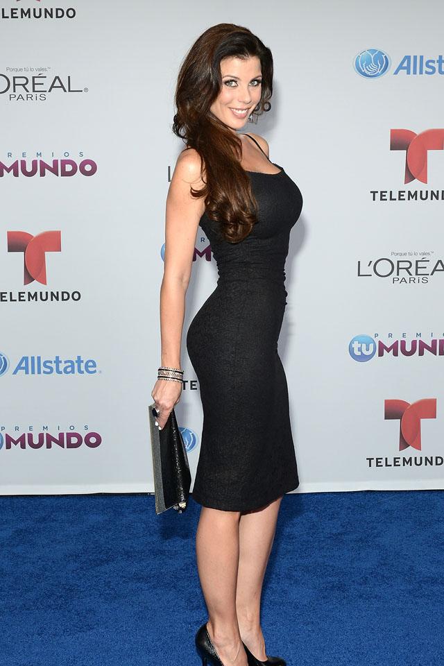 Kimberly dos Ramos y Wanda D'Isidoro en los PremiosTuMundo