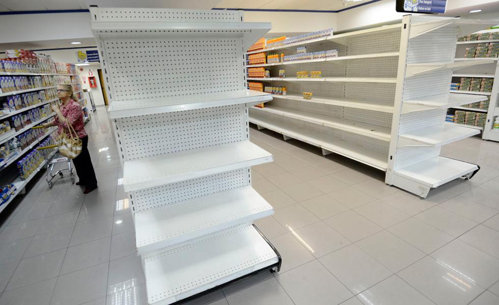 Venezolanos estarían al borde de una hambruna