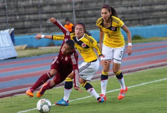 Colombia golea a Venezuela en la Copa América de fútbol femenino