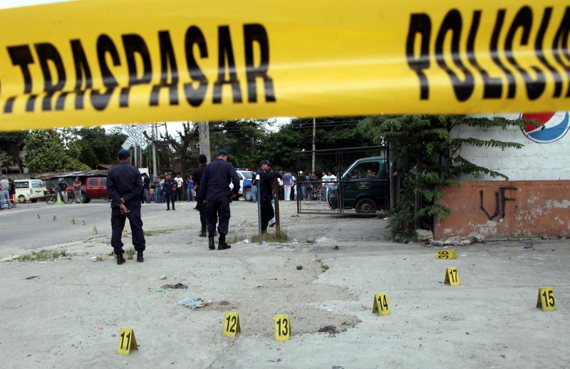 Tiroteo en Honduras dejó 8 personas muertas