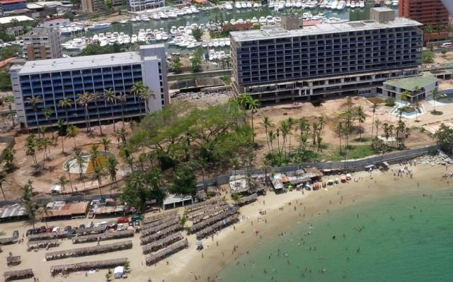 Foto: Vista aérea de la ranchificación del Hotel Macuto Sheraton