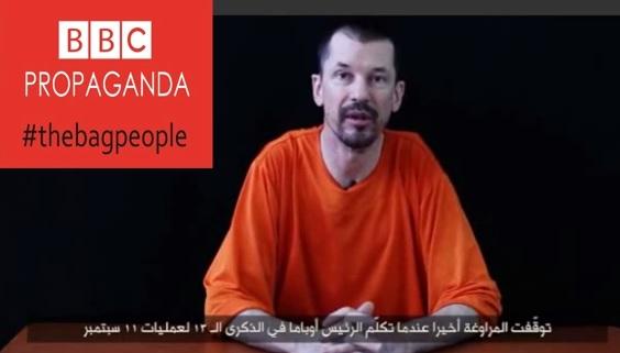 Yihadistas difunden tercer video de rehén británico