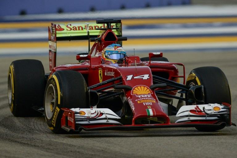 Alonso fue el más rápido en los primeros ensayos libres de Singapur