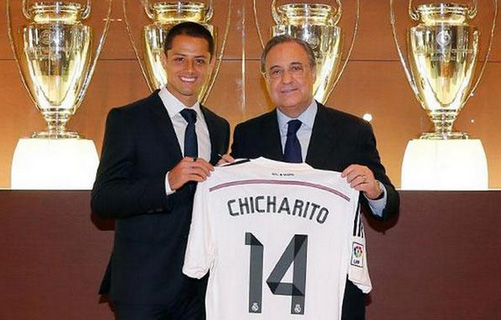 Real Madrid se hace con los servicios del mexicano Chicharito Hernández