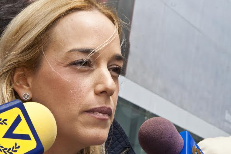 Lilian Tintori conmovida por el pedido de Obama para que liberen a Leopoldo López