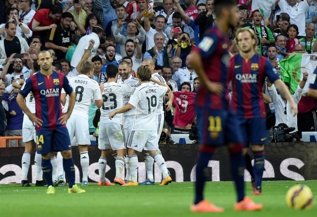 Real Madrid se lleva el Clásico tras vencer 3-1 al Barcelona