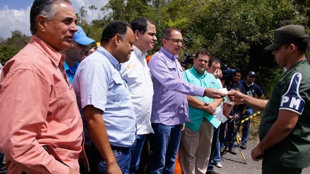GNB niega entrada en Ramo Verde a dirigentes de la Unidad