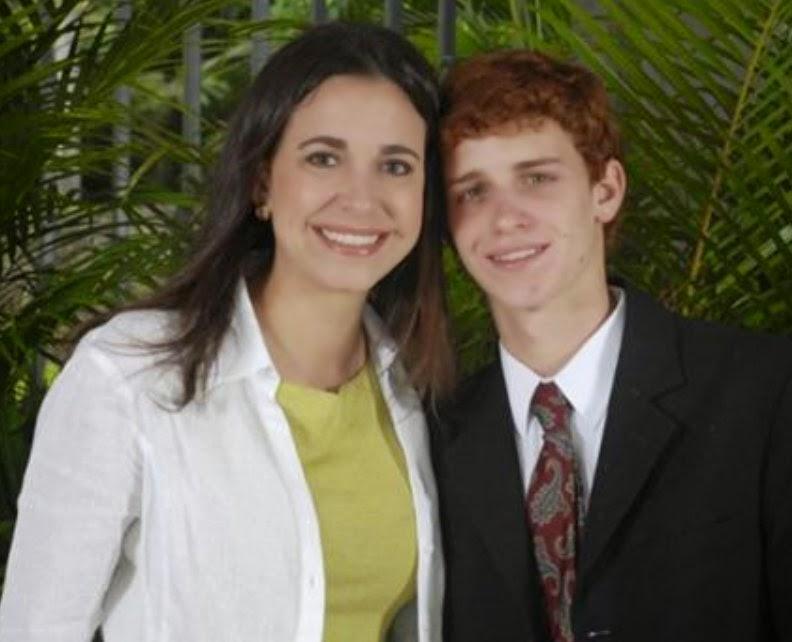 Hijo de María Corina Machado recibirá premio Ifes en nombre de su madre (Entrevista)