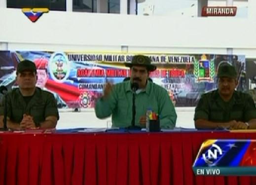Maduro: Defenderé a la Fanb por encima de cualquier cosa