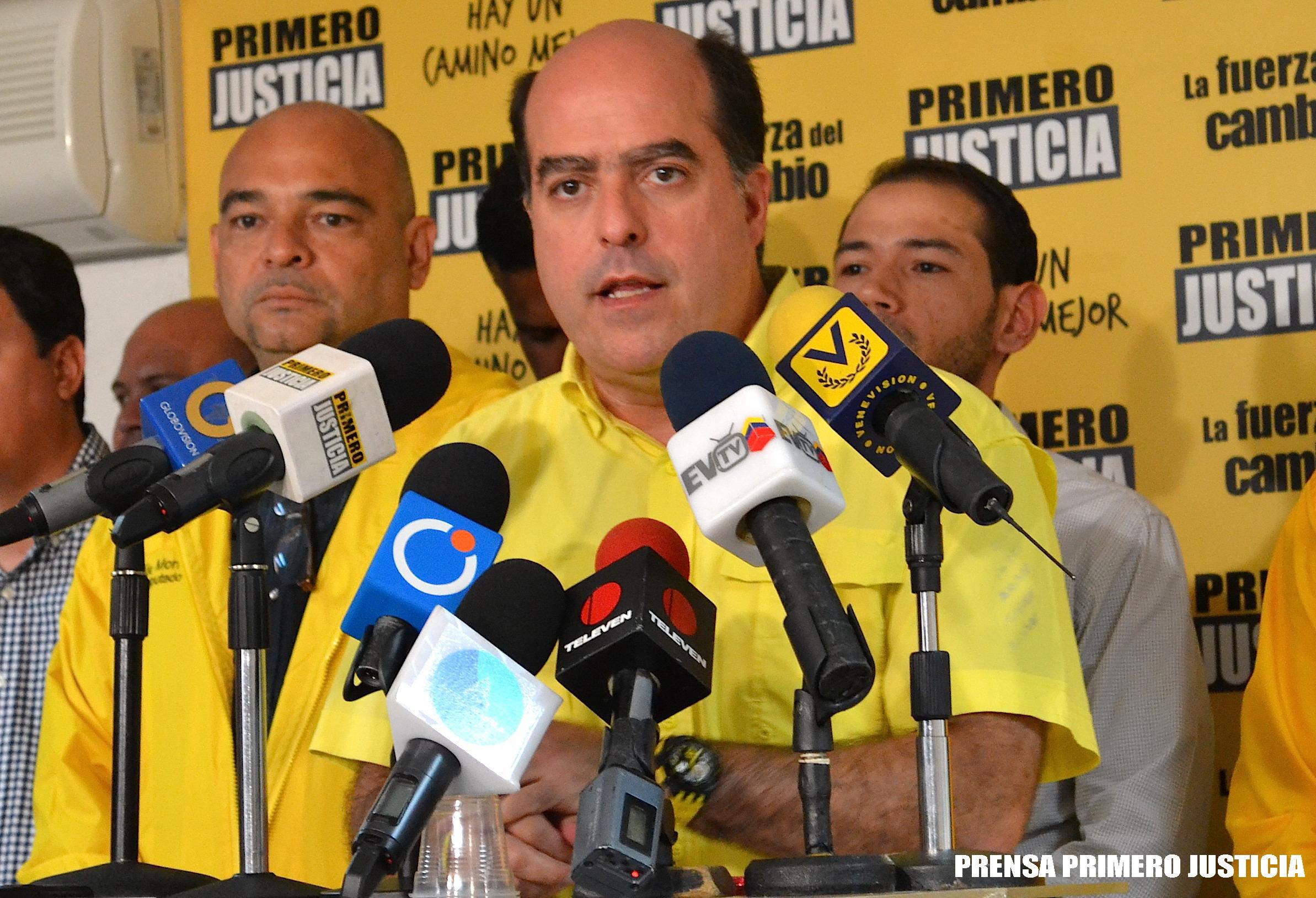 PJ quiere primarias en la MUD para escoger candidatos a regionales