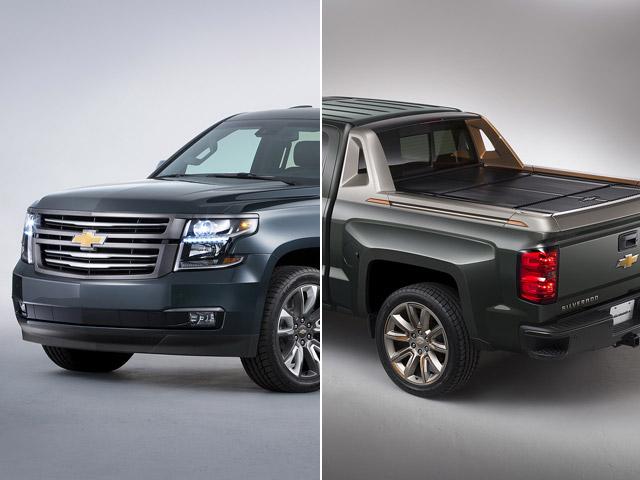 Las posibles Chevrolet Tahoe y Silverado doble cabina que nunca