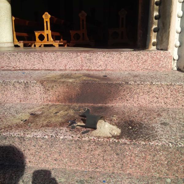 Atacan con explosivos iglesia en Mérida (+fotos)