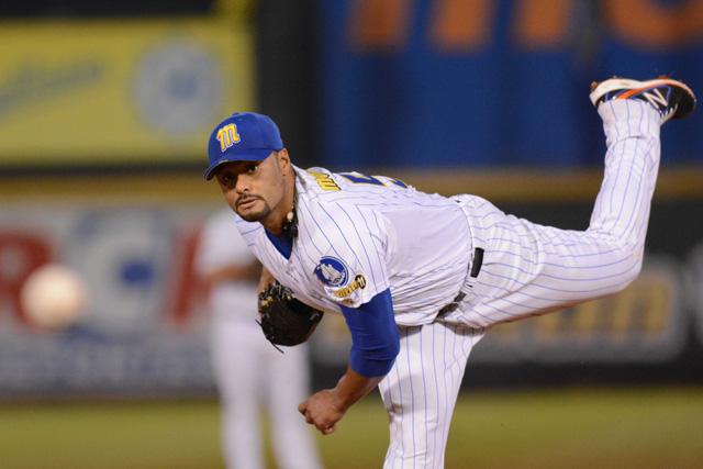 El lanzador venezolano, Johan Santana (Foto: AVS Photo Report)