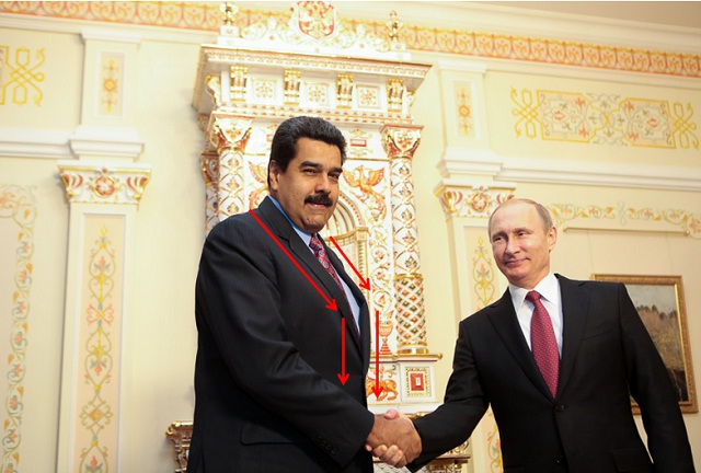Maduro-Putin Moscu Tapa Barriga
