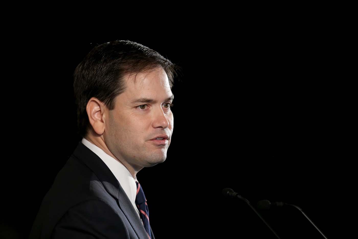 El senador Marco Rubio (Foto archivo)