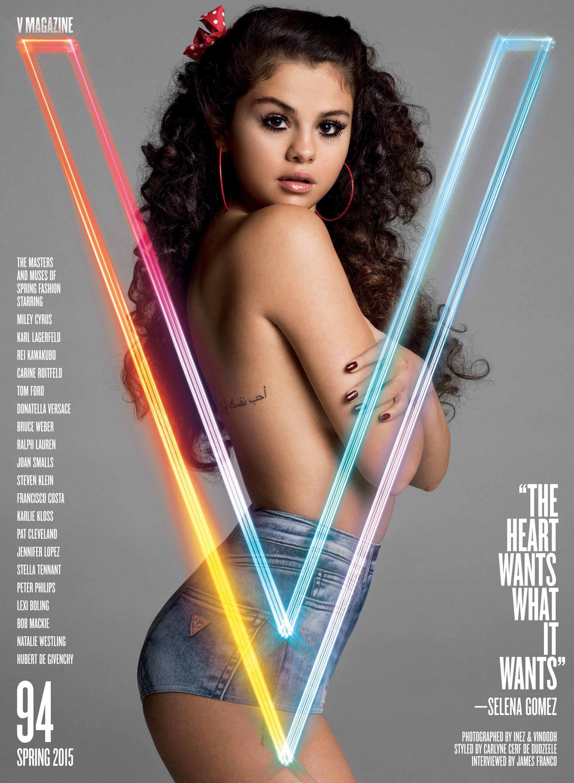 Selena Gomez - V-Mag (1)