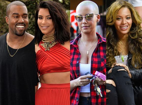 Kanye West habló sobre la rivalidad entre Kim Kardashian y Beyoncé