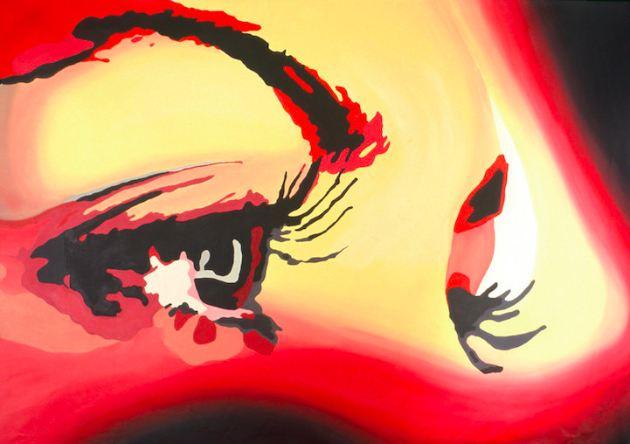 FOTOS: El vibrante arte de un pintor ciego